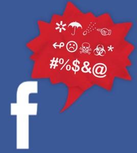 acusação feita no facebook