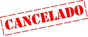 cancelar as férias