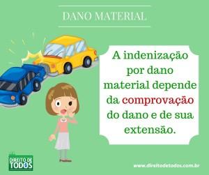 dano material: