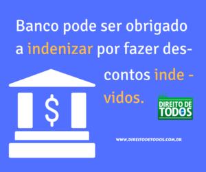 Banco deve indenizar