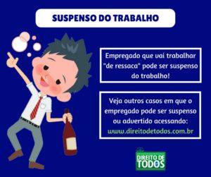 SUSPENSO DO TRABALHO