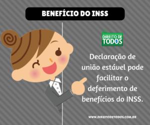Declaração de união estável e benefícios do INSS