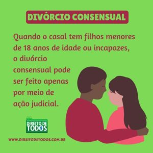divórcio amigável ou consensual