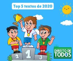 top 5 textos de 2020